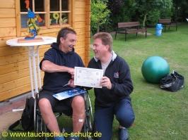 Bernd Fischer, IDA CMAS Tauchsicherheit/Tauchrettung, 13.06.2009