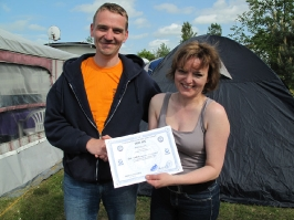 Sabine Fischer, IDA Handicap Tauchgangsbegleiterin, 23.05.2010